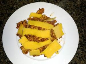 Cheesy Chicken Taco Sloppy Joes (No bun)