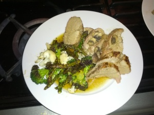 Roasted Pork Tenderloin with Vegetable Medley