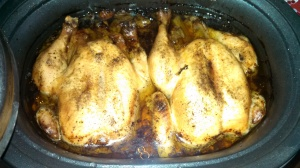 Christmas Eve Slow Roasted Chicken