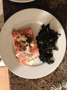 Salmon, Spinach & Kale