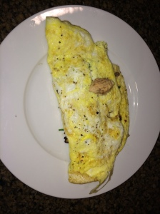 Salmon Stuffed Omlette